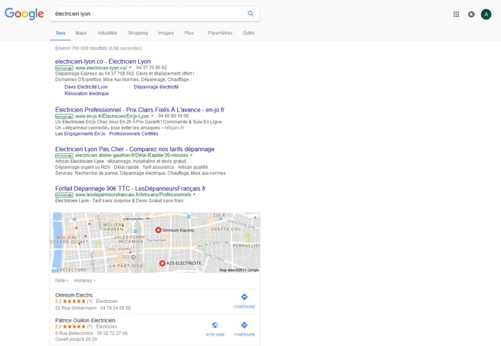 agence web google adwords lyon