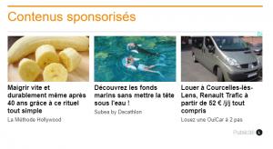 contenus sponsorisés ligatus