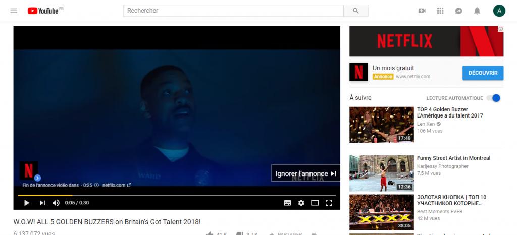 comment faire de la publicité youtube