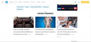 contenus sponsorisés