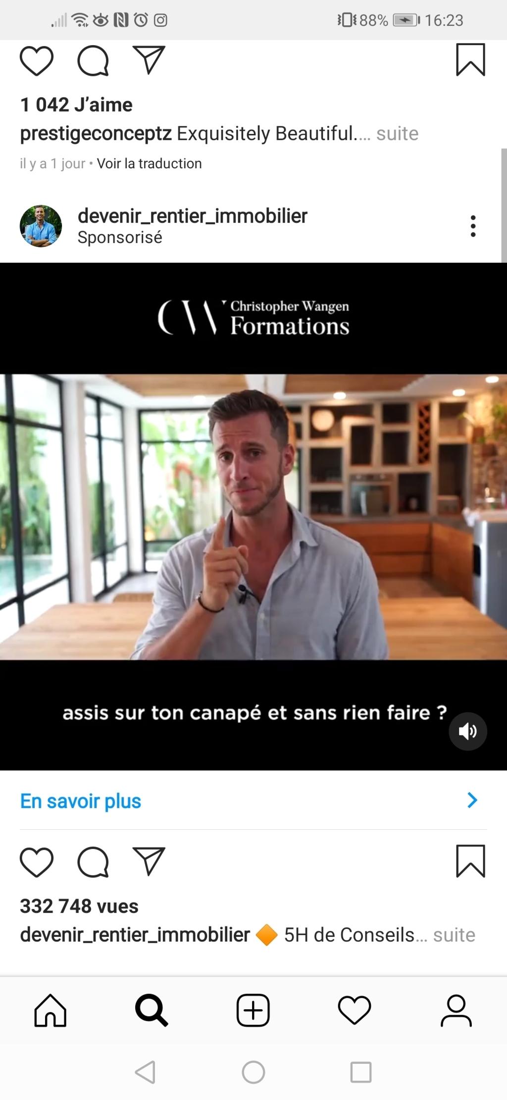 publicité sponsorisé instagram